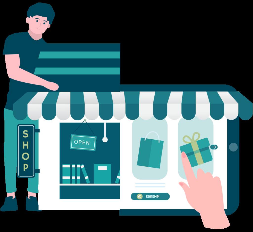 Eskemm, votre boutique en ligne - illustration