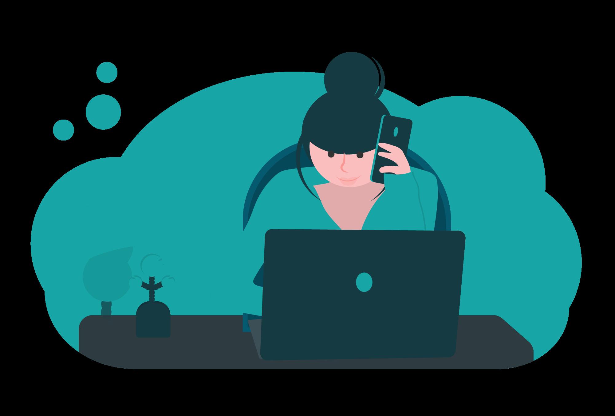 Client commande et paye - Eskemm - Illustration